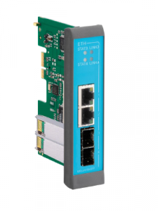 MRX Gigabit SFP plug-in card